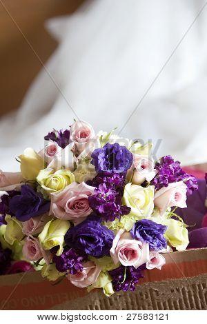 Mix Of Wedding Flowers
