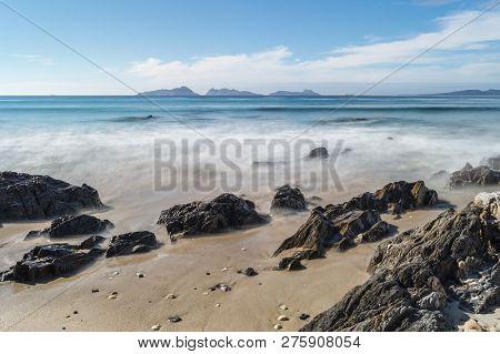 Landscape In Praia De Patos, Nigran, Galicia