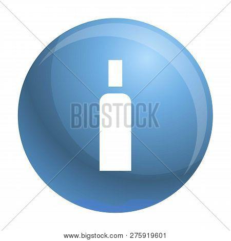 High Density Bottle Icon. Simple Illustration Of High Density Bottle Icon For Web Design Isolated On