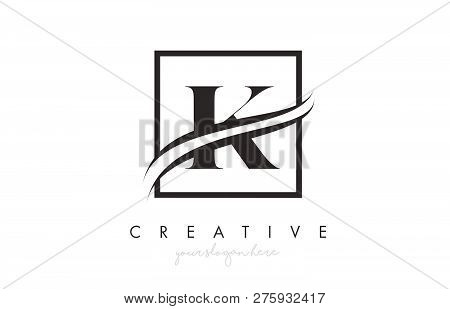 K Letter Icon Logo Vector Photo Free Trial Bigstock