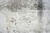 Vintage grunge wall background abstract. Urban decay texture. Building detail. poster