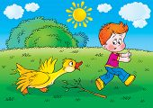 Isolated clip-art / children's book illustration for your design or scrapbook poster