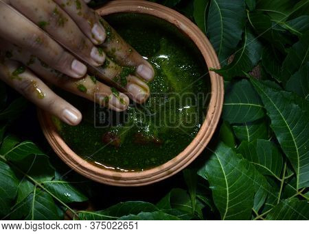 Traditional Ayurveda Beauty Care Treatment For Skin And Body.
