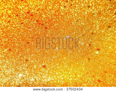 Seamless Background With Gold And White Sparkles