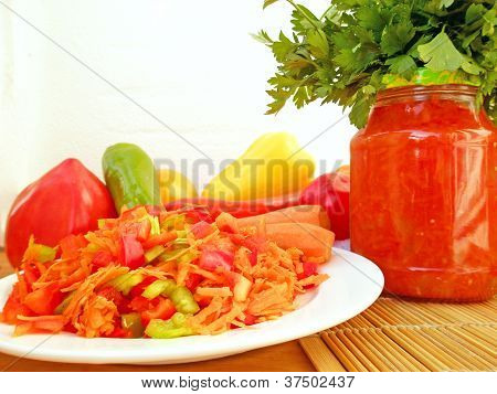 Vegetables And Vessels