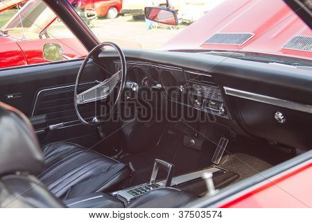 Red Chevy Chevelle Ss Interior
