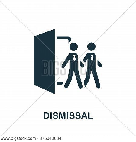 Dismissal Icon. Simple Element From Crisis Collection. Creative Dismissal Icon For Web Design, Templ