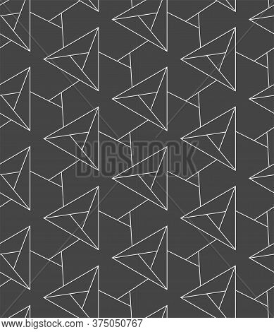 Repeat Asian Vector Diagonal, Backdrop Texture. Repetitive Ornate Graphic Symmetrical Repeat Pattern