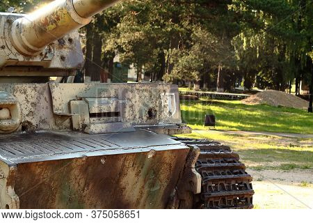 Snegiri Village, Istra District, Moscow Region, June 26, 2020. German Battle Tank 510th Heavy Tank B