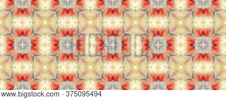 Majestic Floral Tile. Majolica Tiles Print. Rustic Floral Image. Multicolor Seamless  Watercolor Maj