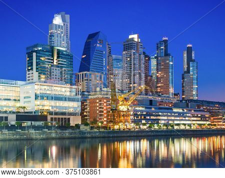 Puerto Madero, Known Within The Urban Planning Community As The Puerto Madero Waterfront In Buenos A