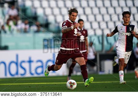 Torino, Italy. 04th July 2020. Italian Football League Serie A. Lyanco Of Torino Fc    During The  S