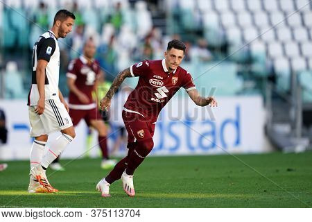 Torino, Italy. 04th July 2020. Italian Football League Serie A. Vincenzo Millico  Of Torino Fc   Dur
