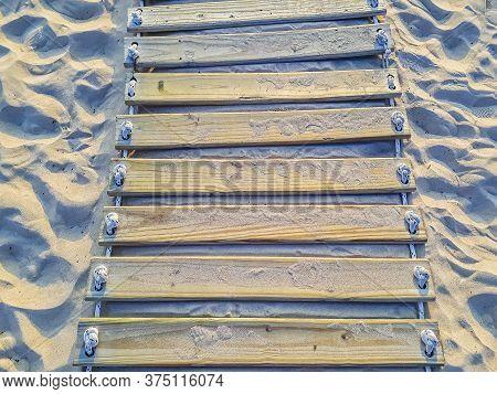 Wooden Road, Mansa Beach, Punta Del Este, Uruguay