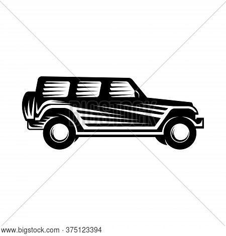 Car. Off-road Car logo vector. Car icon vector. Car icon. Auto Car logo. Car Vector. Car Logo. Offroad Car logo design. Off-road SUV Car vector. Offroad Car Logo icon. Car emblem logo. Offroad Car vector logo design template illustration.