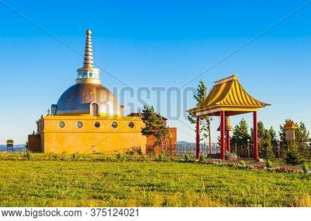 Datsan Rinpoche Bagsha In Ulan-ude City Of The Republic Of Buryatia, Russia