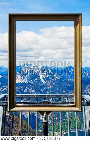 5 Fingers Is A Viewpoint Platform In The Dachstein Mountains On Mount Krippenstein, Upper Austria. F