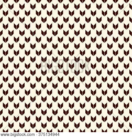 Seamless Pattern With Arrows Motif. Repeated Mini Angle Brackets. Chevrons Wallpaper. Minimalist Abs