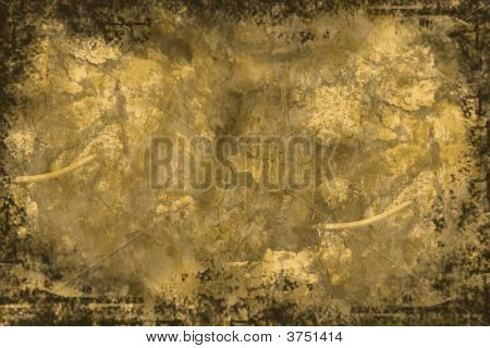Old Parchment Stone Textured Paper Background
