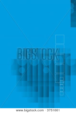 Abstract Hitech Blue
