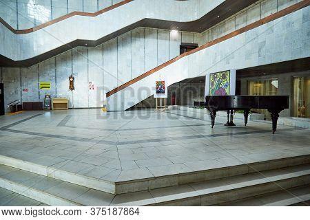 Kirov, Russia - September 08, 2019: Large Conference Hall In The Vasnetsov Art Museum In Kirov City