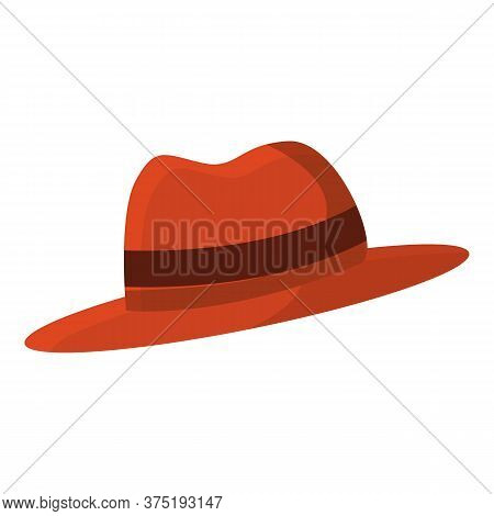 Investigator Hat Icon. Cartoon Of Investigator Hat Vector Icon For Web Design Isolated On White Back