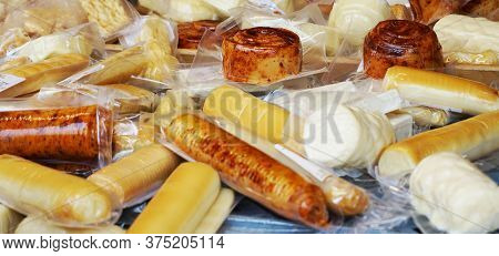 Czech Cheese Collection As Very Nice Food Background