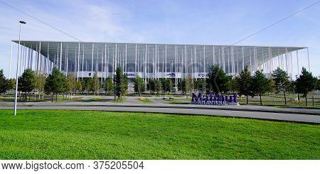 Bordeaux , Aquitaine / France - 10 25 2019 : Stade Matmut Atlantique Sport Bordeaux City Stadium Foo