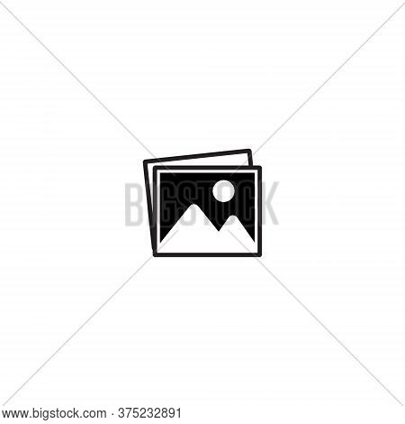 Photo Gallery Icon Vector In Trendy Style. Image, Picture, Photograph Symbol Illustration