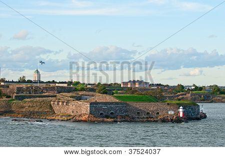Suomenlinna Fortress.