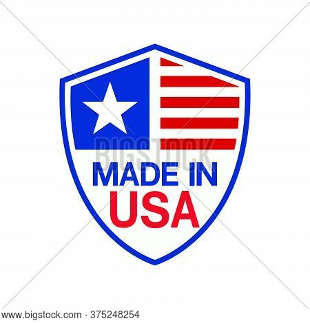 10-made In Usa Sign Vector