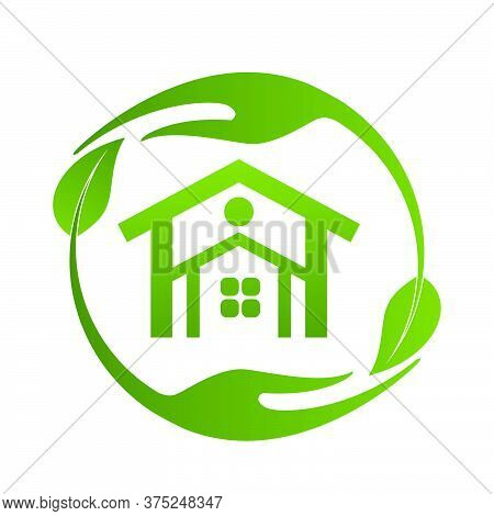 04-real Estate, Eco House Design Vector Template