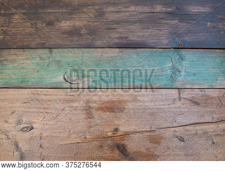 Wooden obsolete texture. Old panels background