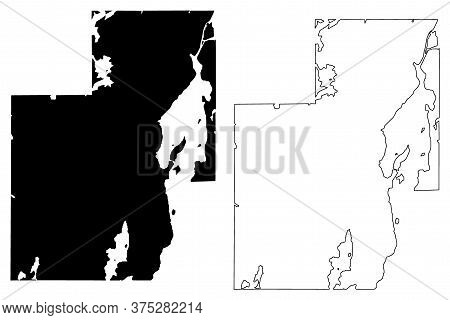 Yellowknife City (canada, Northwest Territories) Map Vector Illustration, Scribble Sketch City Of Ye