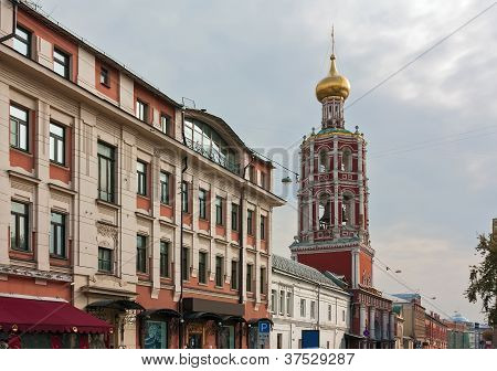 Street Petrovka In Moscow