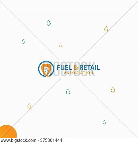 Fuel And Water Logo, This Can Used For Any Kind Of Fuel And Water Related Business