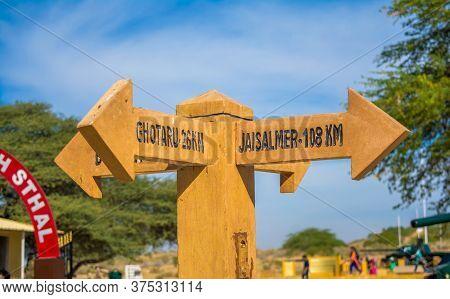 The Longewala Battle Ground, Famous For Indo-pak War Of 1971, Longewala War Memorial, Jaisalmer, Raj