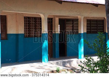Nungwi, Zanzibar / Tanzania - 02 Jan 2017: School In Nungwi Village On Zanzibar, Tanzania