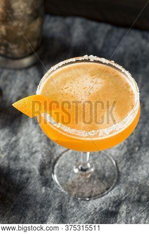 Boozy Orange Sidecar Cocktail