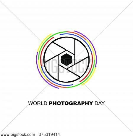 Capture Icon Vector Illustration. Good Template For Photography Design.