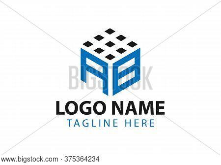 Business Corporate Letter Ab Logo Design Vector.letter Ba Logo Vector Template. Letter Ab Logo For T