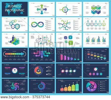 Inforgraphic Diagram Design Set Can Be Used For Business Project, For Annual Report, Web Design. Sta