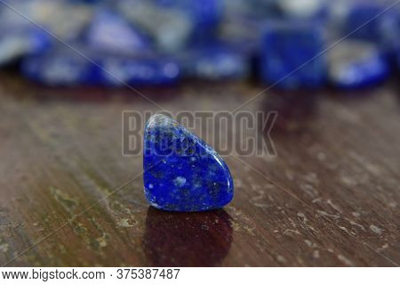 Lapis Lazuli Is A Natural Blue Gem For Making Jewelry