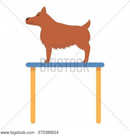 Wet Groomer Pet Icon. Cartoon Of Wet Groomer Pet Vector Icon For Web Design Isolated On White Backgr