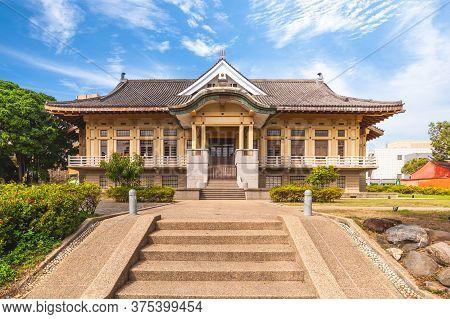Bushido Hall Near Tainan Confucius Temple In Taiwan