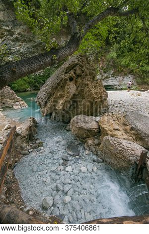 Amazing View Of Lu Vurghe, Pools With Sulphurous Water Where You Can Immerse Yourself And Enjoy Abso