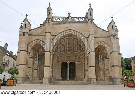 Collegiate Church Of Notre Dame In Beaune, France