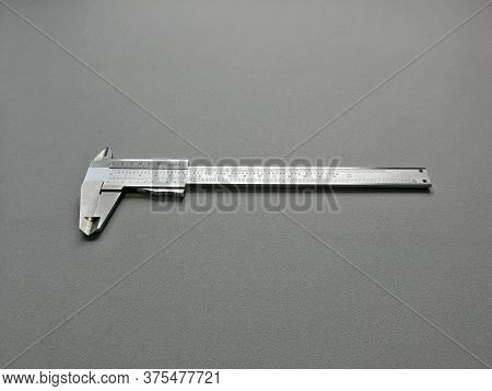 Steel Caliper With Metric And Also Inch Dial, Image