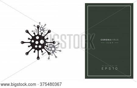 Corona Virus Bacteria. No Infection And Stop Corona Virus Concepts. Dangerous Corona Virus Cell In C