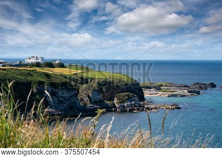 North Coast Of Northern Ireland, In The County Antrim, Near The Giants Causeway And And Causeway Coa